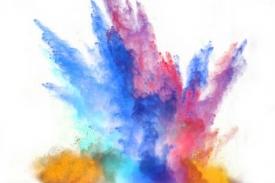 Polvos de Colores para Festejar